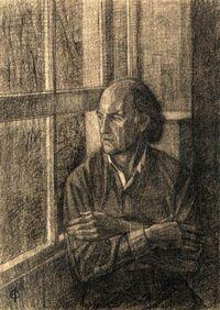 Jonathan Stedall, BBC filmmaker (portrait by Saied Dai)