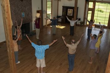 This is our thirteenth year of celebrating Renewal. Cezary Ciaglo, our resident eurythmist, carefully tailors eurythmy for most of the groups, and course content is enhanced for faculty and participants alike. We also begin our morning with eurythmy as a community.
