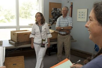"""This year, the bees were part of our Renewal experience, thanks to the presence of Gunther and Vivian Hauk. We learned how the bees are helping us even in their time of distress. Did you know that bees hum to the tone of """"A""""?"""