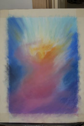 We think of the Angels looking down to us. Is it possible that what we create together at Renewal may also rise upward as longing, as love?