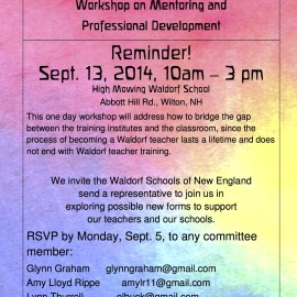 CfA hosts a New England regional Workshop on Mentoring and Professional Development