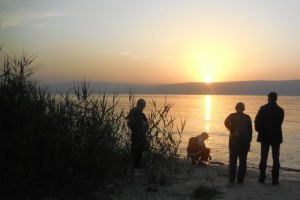 IF members at the Sea of Galilee