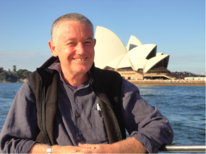Michael Burton, at home in Australia, returns to tour the U.S. in April/May/June of 2016.