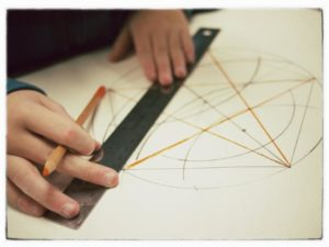 Sixth Grade Geometry at Highland Hall Waldorf School