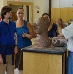 Clay Sculpting at CfA