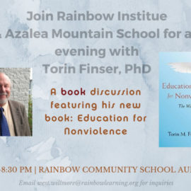 Education for Nonviolence: Book Talk with Torin Finser, PhD
