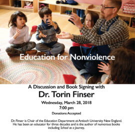 A Discussion and Book Signing with Dr. Torin Finser at New Amsterdam School