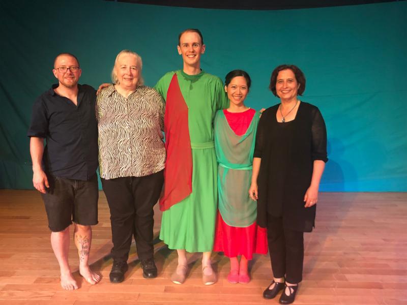 Ivilisse Esguerra and Clifford Venho, Barbra Renold and Gili Melamed-Lev