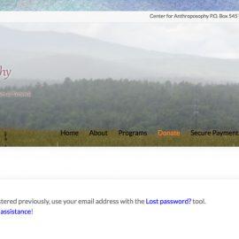New Jobs Board on Center for Anthroposophy Website